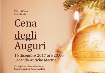 Cena degli auguri – sabato 16 dicembre