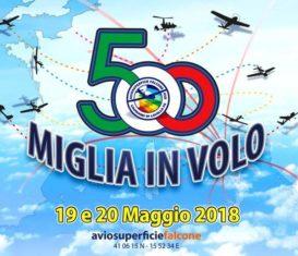 19-20/05/2018 – 5° Falcon Day – Tour 500 miglia in volo