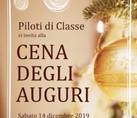 Cena degli auguri – sabato 14 dicembre 2019