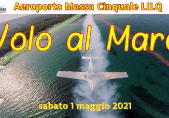 1° maggio 2021 – Volo al mare